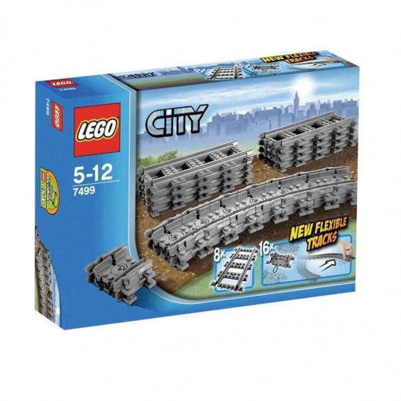 LEGO City Vías Flexibles 7499