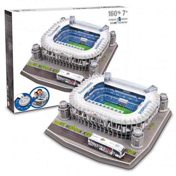 Puzzle 3D Estadio Santiago Bernabéu Real Madrid