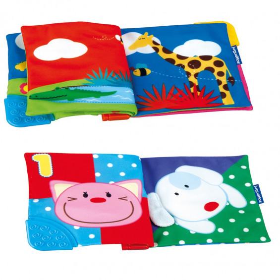 Bebé Vip Libro Animalitos Blandito