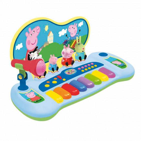 Peppa Pig Órgano con Personajes Melodías y Micro