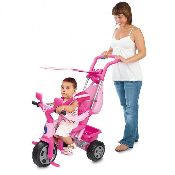 Juguettos Triciclo Baby Plus Music con Toldo