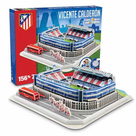 Puzzle 3D Club Atlético de Madrid Estadio Vicente Calderón