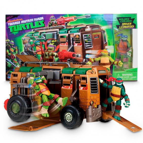 Tortugas Ninja Vehículo Shell Raiser Van + 1 Figura Exclusiva