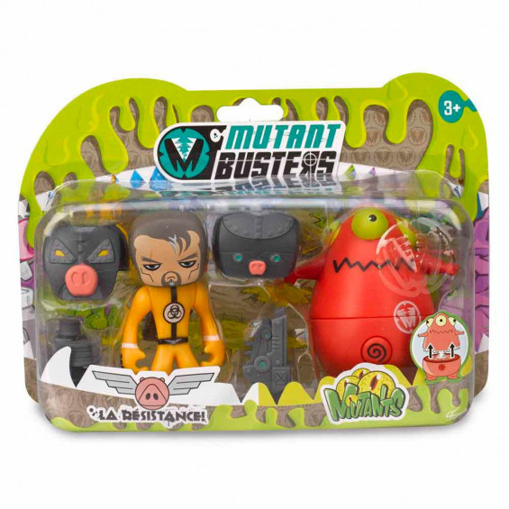 Mutant Busters Action Pack 2 Figuras