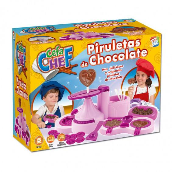 Cefa Chef Piruletas de Chocolate