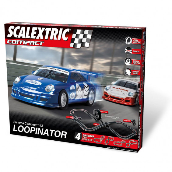 Scalextric Circuito Compact Loopinator