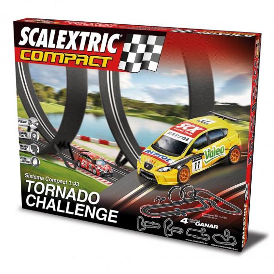 Scalextric Circuito Compact Tornado Challenge 8,50 m