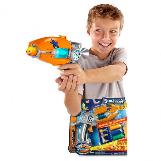 Slugterra Pistola + 3 Municiones Slugs