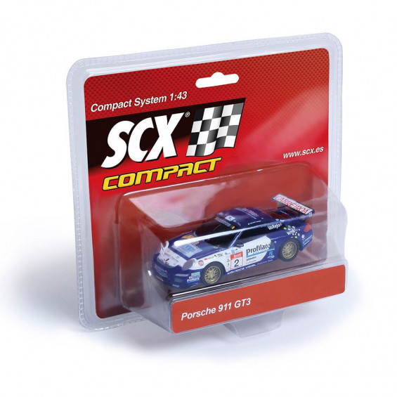 Scalextric Compact Coche Porsche 911 GT3 Vallejo