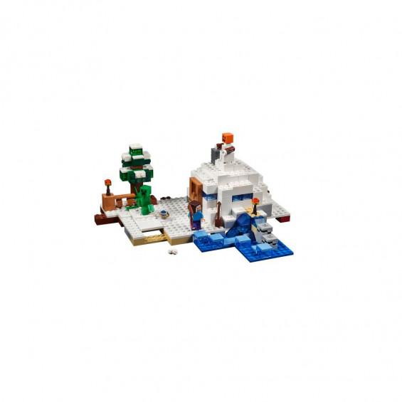 LEGO Minecraft La Guarida en la Nieve 21120