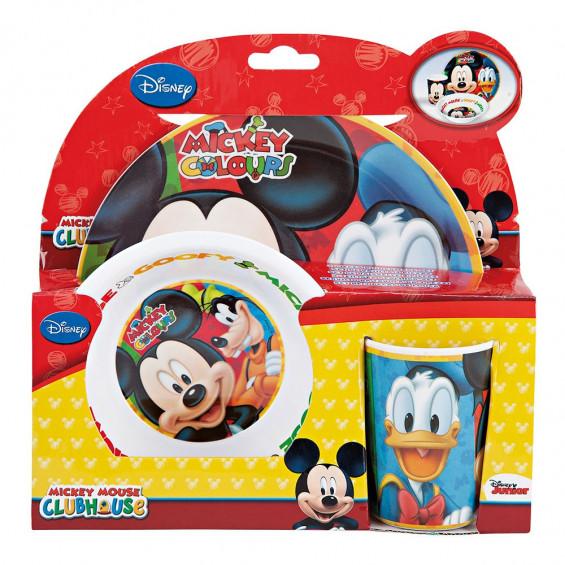 Mickey Mouse Vajilla 3 Piezas