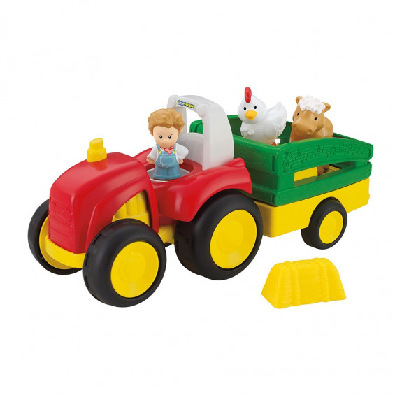 Fisher Price Little People Vehículos Cantarines Tractor