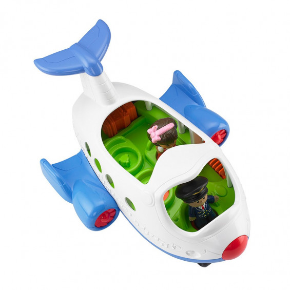 Fisher Price Little People Vehículos Cantarines Avión