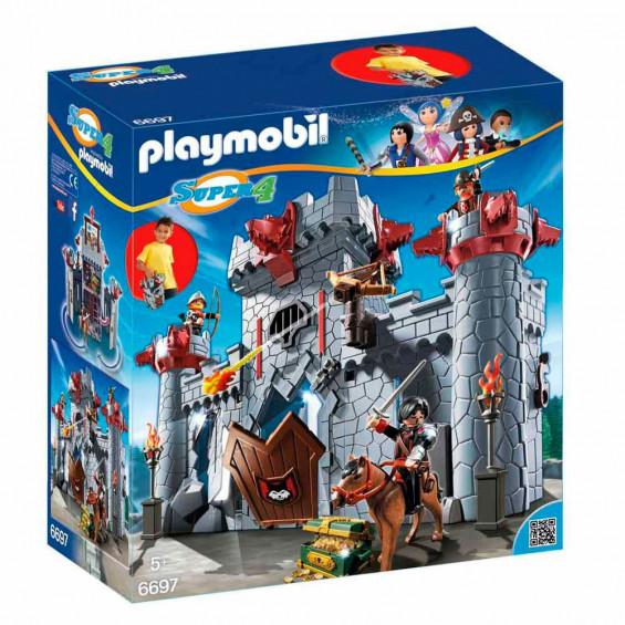 Playmobil Super4 Castillo Maletín Barón Negro