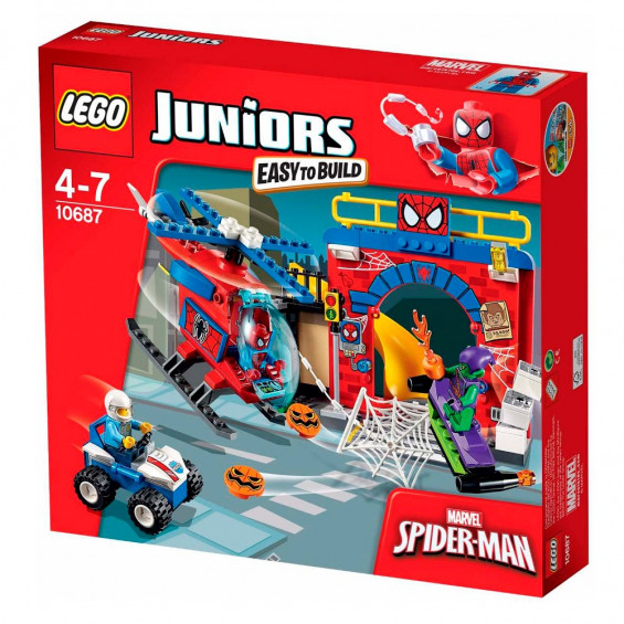 LEGO Juniors La Guarida de Spiderman 10687