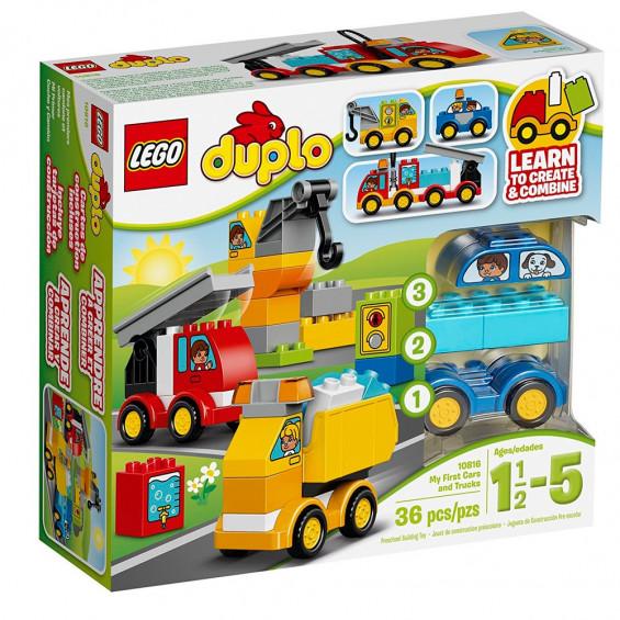 LEGO Duplo My First Mis Primeros Vehículos 10816