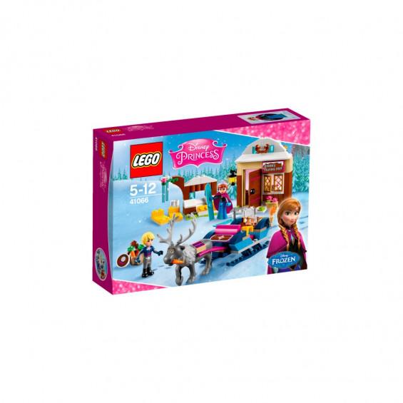 LEGO Princesas Disney Aventura en el Trineo de Anna y Kristoff 41066