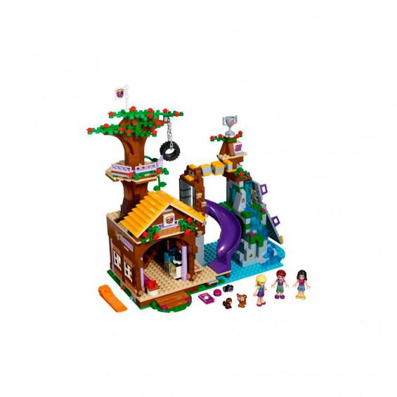 LEGO Friends Campamento de Aventura Casa en el Árbol 41122