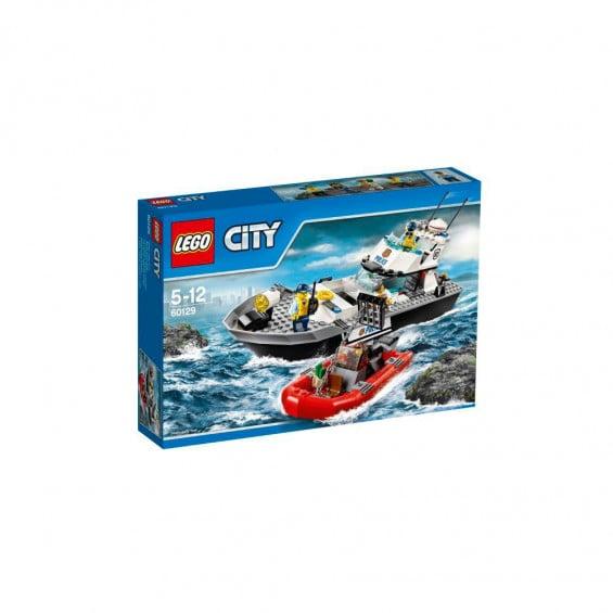 LEGO City Policía Barco Patrulla de la Policía 60129