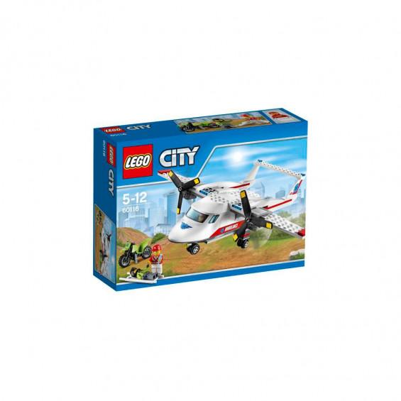 LEGO City Vehículo Avión Médico 60116