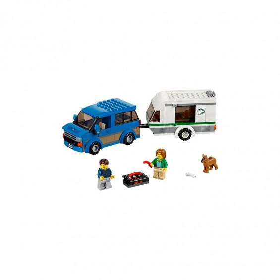 LEGO City Vehículo Furgoneta y Caravana 60117
