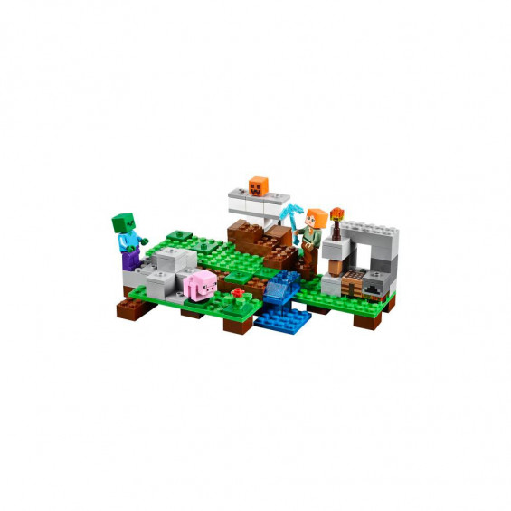 LEGO Marvel el Golem de Hierro 21123