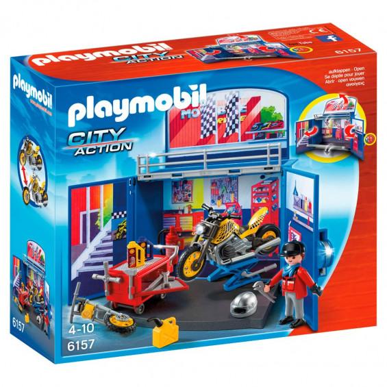 Playmobil City Action Cofre Motos