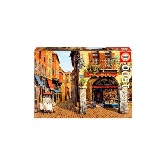 Puzzle 1500 Piezas Colors of Italy Salumeria Viktor Shvaiko