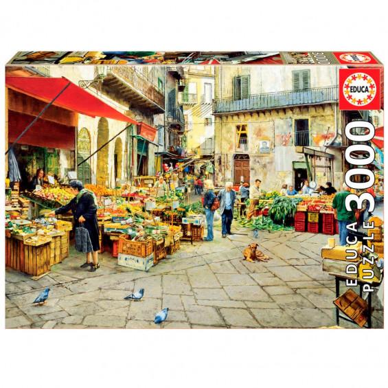 Puzzle La Vucciria Market Palermo
