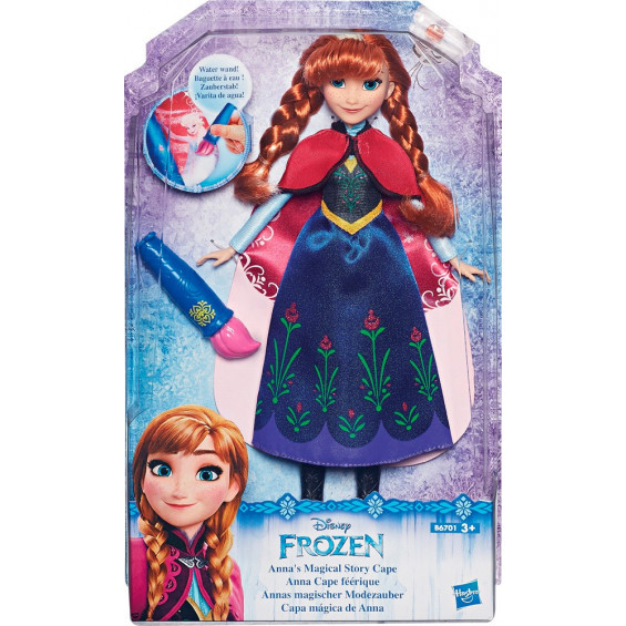 Frozen Capa Historia Mágica Varios Modelos