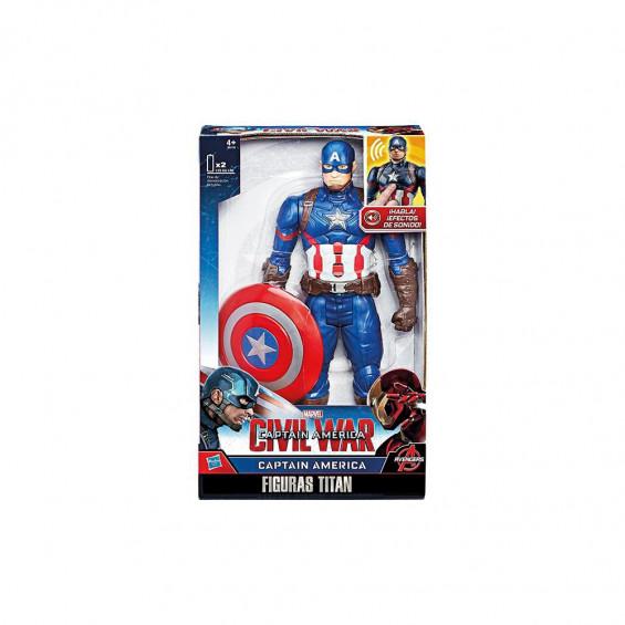 Avengers Capitán Amércia Figura Electrónica