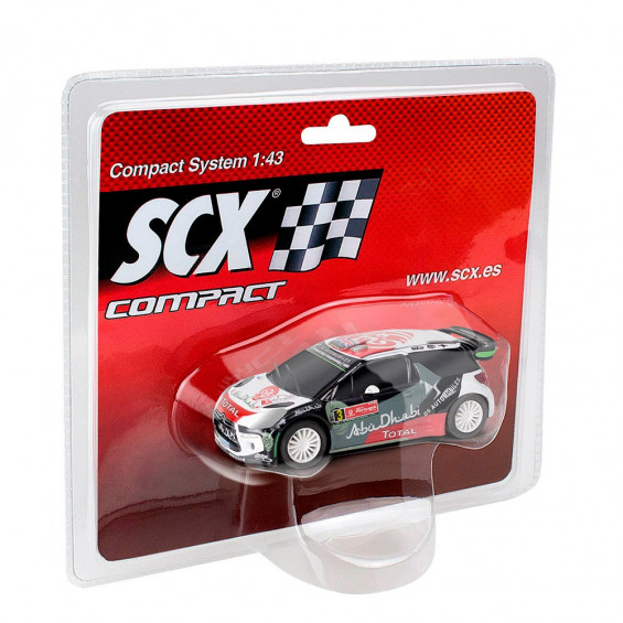 Scalextric Compact Coche Ford Fiesta RS WRC Rally Portugal