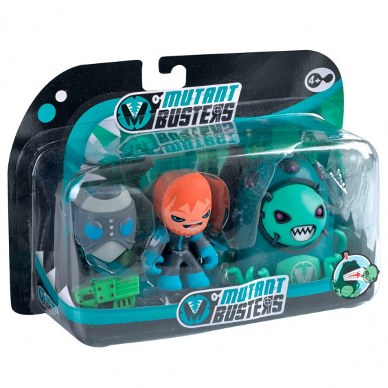 Mutant Busters Action Pack Serie 2 Varios Modelos
