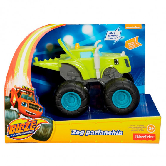 Blaze & The Monster Machines Vehículo Mediano Zeg Zeg Parlanchín