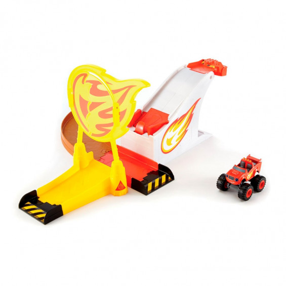 Blaze & The Monster Machines Pista Aro de Fuego/Zeg Triple