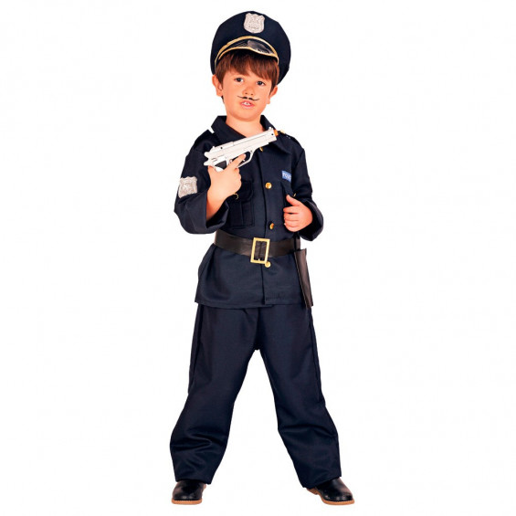 Disfraz Infantil Niño Policía Talla S