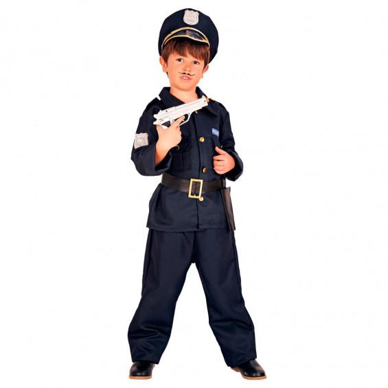 Disfraz Infantil Niño Policía Talla L