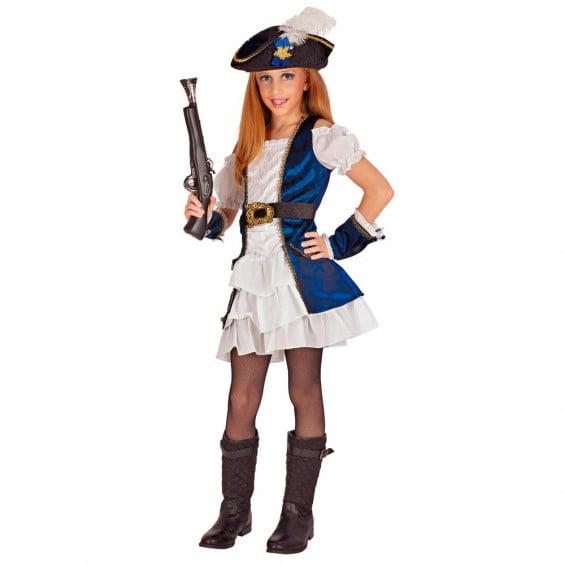 Disfraz Niña Pirata Talla L