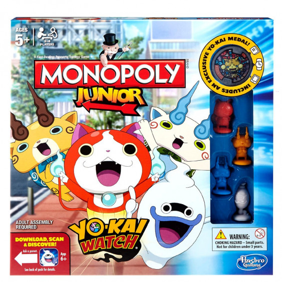 Monopoly Junior Yokai Watch