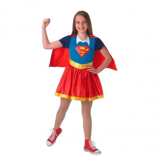Disfraz Infantil Super Hero Girls Supergirl Talla L
