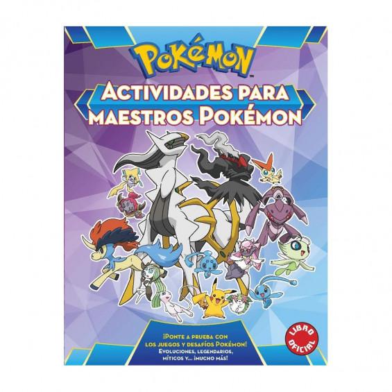 Pokemon Actividades Para Maestros Pokemon
