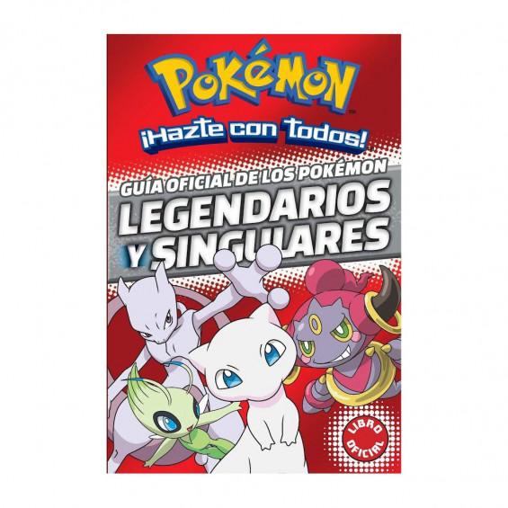 Pokémon Guía Oficial de los Pokémon Legendarios y Singulares