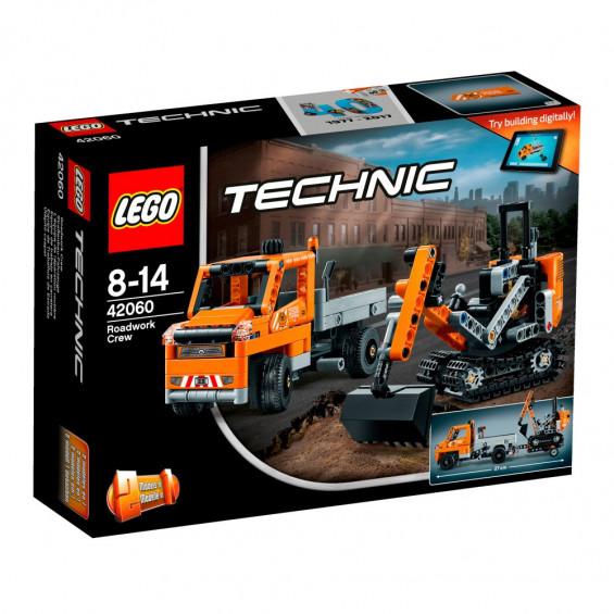 LEGO Technic Equipo de Trabajo en Carretera - 42060