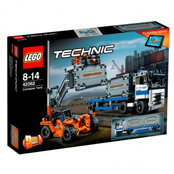 LEGO Technic Depósito de Contenedores -42062