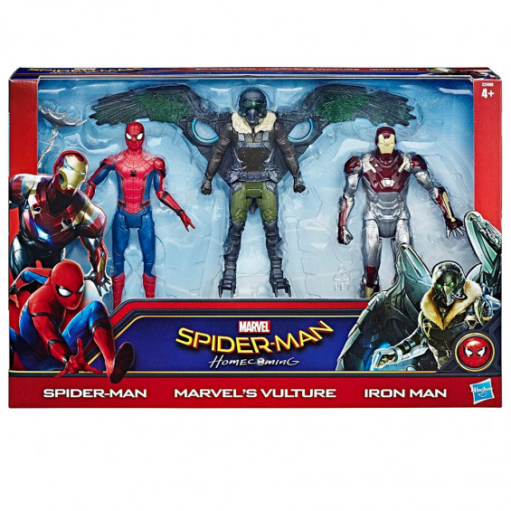SPIDER-MAN Web City Figure 3 Pack