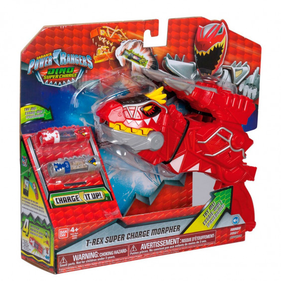 Power Rangers Dino Supercharge Morpher Dx