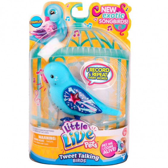 Little Live Pets Pajaritos Parlanchines Serie 5 Varios Modelos