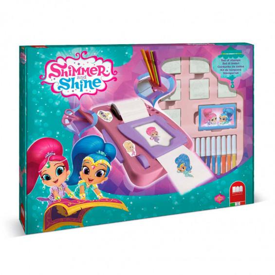 Shimmer & Shine Sticker Dispenser
