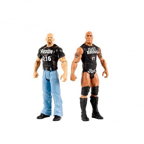 WWE Pack 2 Figuras Tough Talkers Varios Modelos
