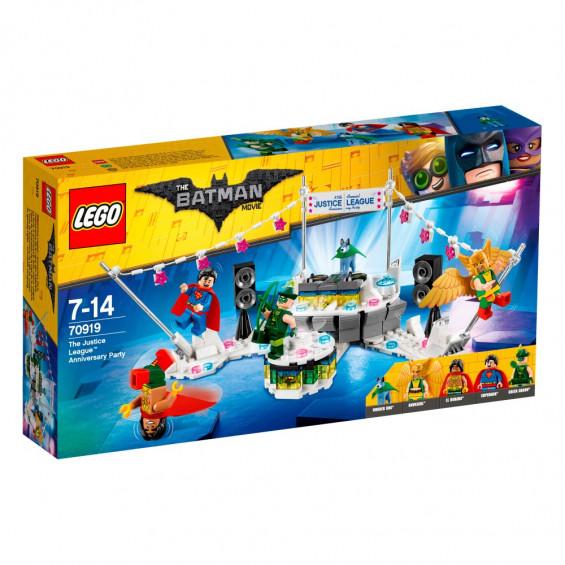 LEGO Batman Movie Fiesta de Aniversario  de la Liga de la Justicia - 70919